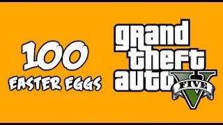100 AMAZING Easter Eggs in GTA 5!