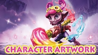 Skylanders SuperChargers: Splat, BB Roller Brawl & Artwork
