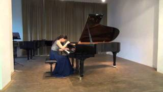 Schubert Sonata D845 1st&2nd movements by Si Chen