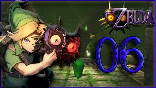 The Legend Of Zelda Majora's Mask 3D ep 6 : Le temple de bois cascade