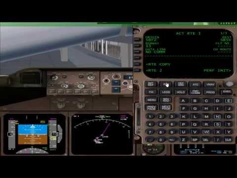 VOO 747-400 PMDG POR FMC (PARTE1) ***EAGLE ARLINES***