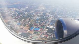 Phnom Penh to Siem Reap by Cambodia Airway Khmer Speaking