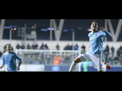 David Villa First Goal for New York City FC 10.02.2015