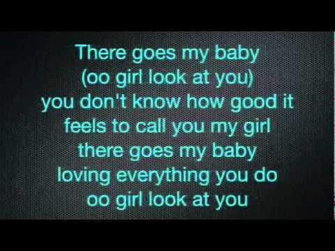 Usher   There Goes My Baby + Lyrics   YouTube