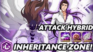 Bleach Brave Souls: Hogyoku Aizen (Attack Hybrid) vs Heart Inheritance Zone