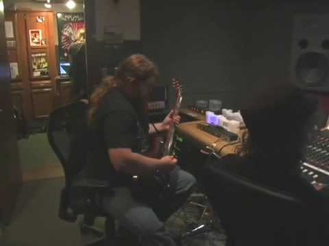 "SKELETONWITCH ""Breathing The Fire"" studio vlog #3 (guitars!)"