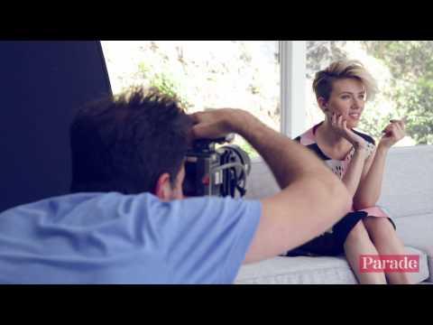 Scarlett Johansson Behind the Scenes