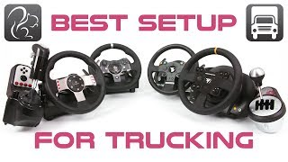 Best Wheel Setup For Sim Trucking (Logitech or Thrustmaster?)