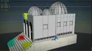 "3D Animation: ""Hindu Mandir Temple"""