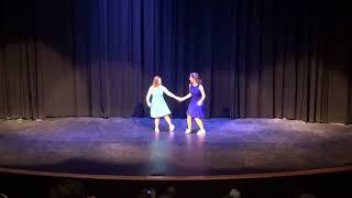 """Monica Buczynski and Hannah Wheeler Swing Dance to """"I Wanna Learn How to Dance"""""""