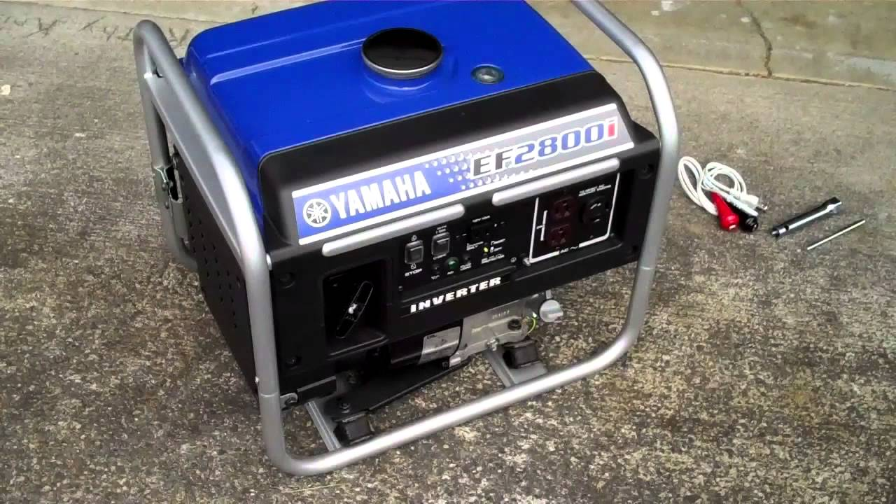 Yamaha ef2800i inverter generator youtube for Yamaha generator for sale