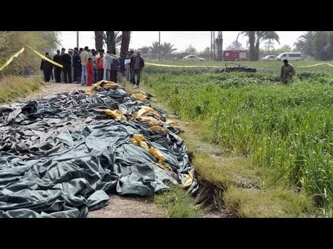 Hot Air Balloon Crash Kills 19 Tourists Near Luxor in Egypt (26.02.2013)