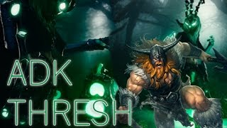 League of Legends Olaf Jungle и ADK Thresh OMG!!!!!