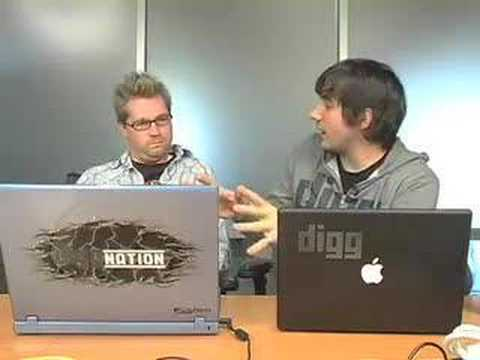 Diggnation - iPhone vs. Nokia Aeon (Ep. 83)
