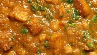 Pure Punjabi - Punjab Channa Paneer Masala (Chickpea / Chole Paneer Curry) - An Indian Vegetarian recipe.