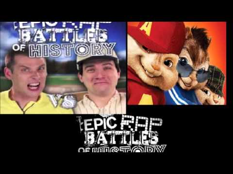 Babe Ruth vs Lance Armstrong. Epic Rap Battles of History Season 2 CHIPMUNKS version