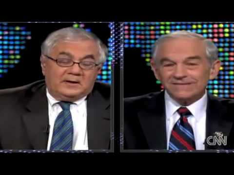 Larry King: Ron Paul V Barney Frank (12.17.09)