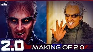 2.0 : Making of Akshay Kumar's Character   Superstar Rajinikanth, Shankar   Enthiran