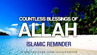 Countless Blessings of Allah  | Shaykh Hasan Ali   Islamic Reminder ᴴᴰ HD