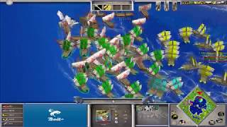WKT vs F2/AoL - Age of Mythology: The Titans (Hybrid Mod) (Game 2)