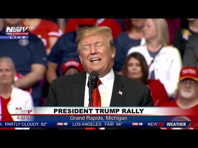 FULL MAGA RALLY President Trump in Grand Rapids, MI