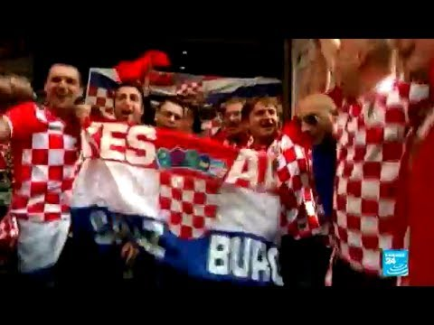 2014 World Cup: the party has finally started in São Paulo thanks to the Croatian fans