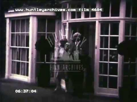 Amateur home movie of events in Northampton, 1930's -- Film 4684