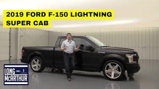 2019 FORD F-150 LIGHTNING SUPER CAB CUSTOM BUILD