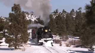 Winter on the Narrow Gauge Preview - Cumbres & Toltec Flanger Train