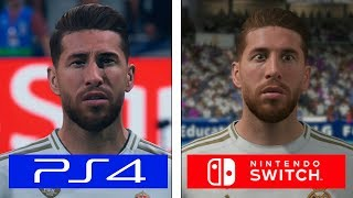 Fifa 20 | PS4 vs Switch | Graphics & FPS Comparison