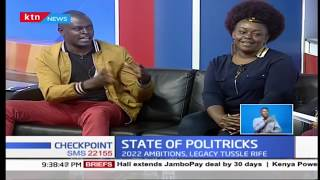 CheckPoint: Ndindi Nyoro and Millicent Odhiambo discuss current political state in Kenya