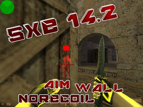 Counter-strike 1.6 - Cheat Free Vip Sxe 14.5 (aimbot-norecoil-etc) + Download. video