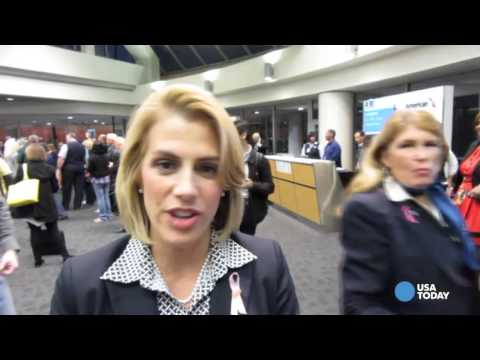 Tearful flight attendant recalls time with US Airways