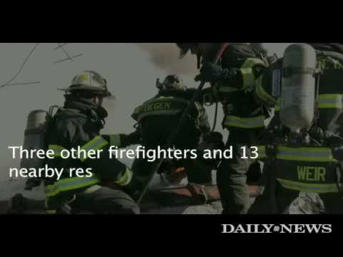 Bensonhurst fire leaves firefighter hurt