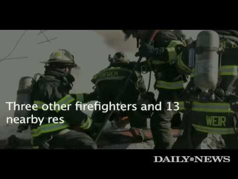 Bensonhurst fire leaves firefighter hurt