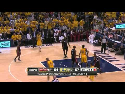 Miami Heat vs Indiana Pacers Game 2 | May 20, 2014 | NBA Eastern Conference Finals 2014