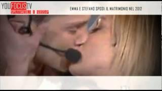 Emma e Stefano sposi: il matrimonio nel 2012