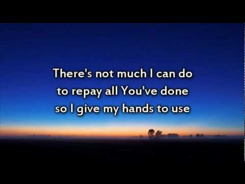 Jeremy Camp - My Desire - Instrumental with lyrics