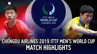 Ma Long vs Tomokazu Harimoto | 2019 ITTF Men's World Cup Highlights (1/2)