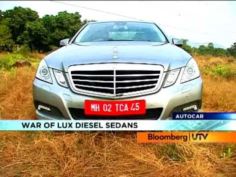 2011 Mercedes-Benz E-Class Vs BMW 5D Vs Jaguar XFS | Comparison Test | Autocar India