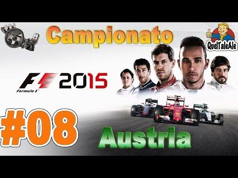 F1 2015 - Gameplay ITA - Logitech G27 - Campionato #08 - Austria - Le gomme soffrono
