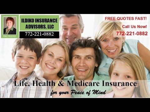 Florida LIfe Medicare Health  Insurance Questions - Ildiko Insurance Stuart FL