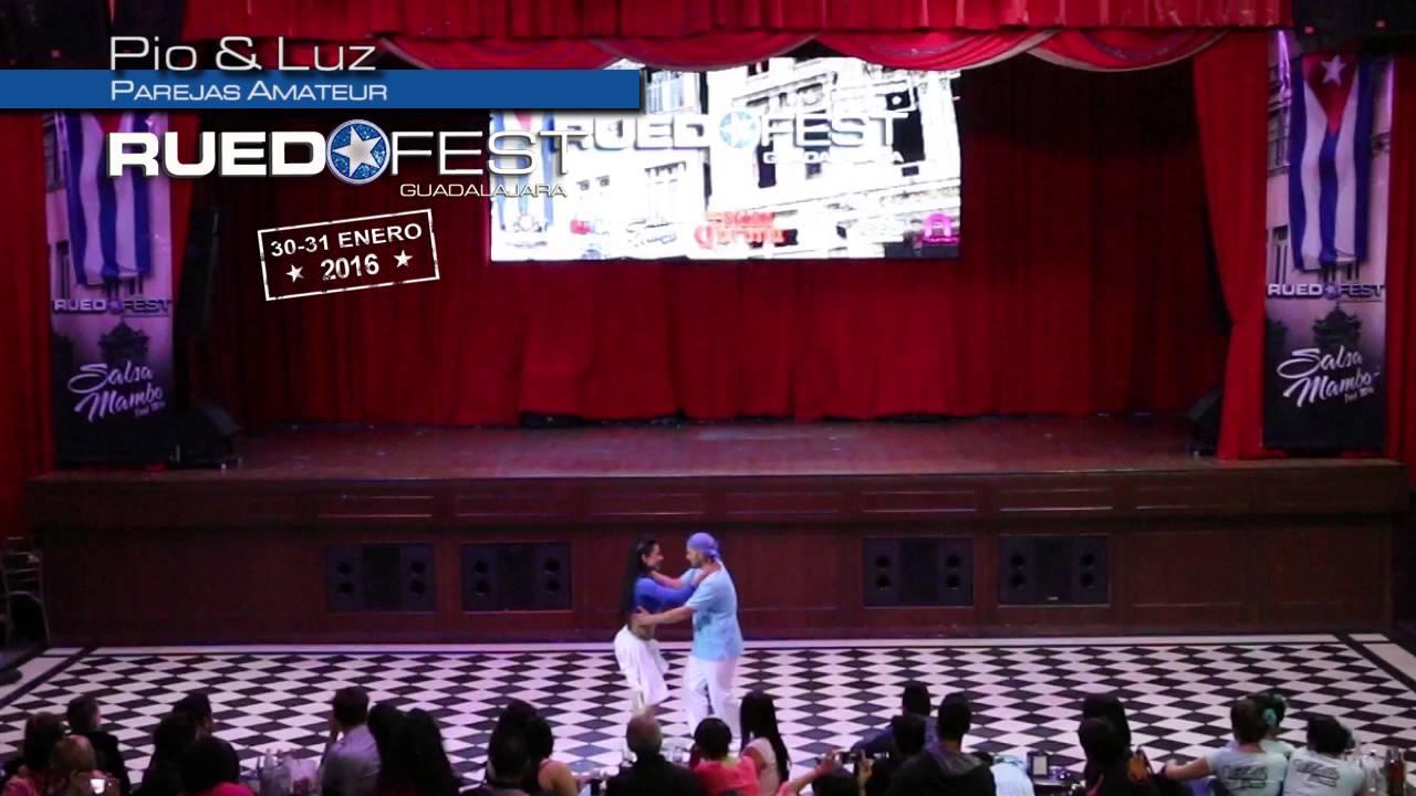Pio & Luz   Parejas Amateur   Ruedafest 2016   Guadalajara