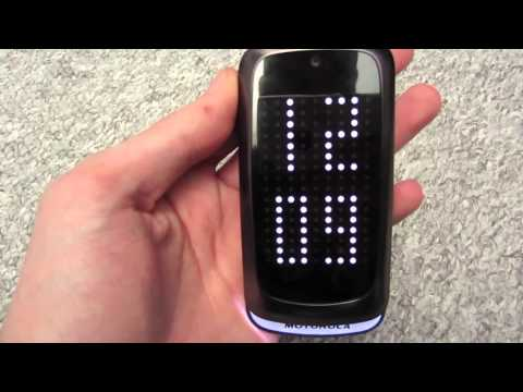 just a little review of the motorola gleam+ plus.