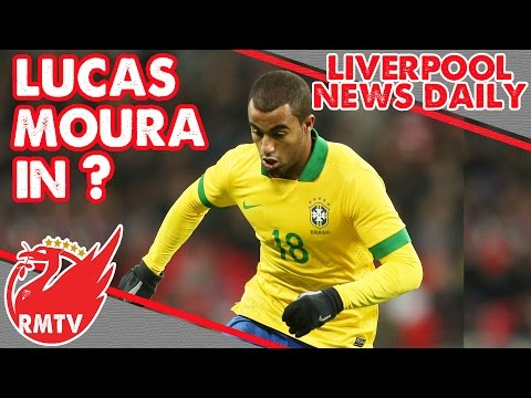 Sky Sports Link Lucas Moura To LFC | LFC Daily news