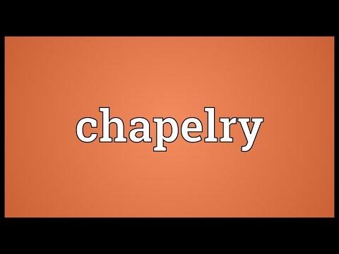 Header of chapelry