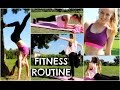 My Fitness Routine | Workout Tips + Essentials