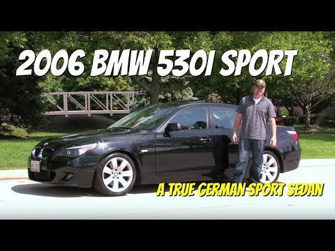 2006 BMW 530i Sport--Video Test Drive with Chris Moran from Chicago Motor Cars