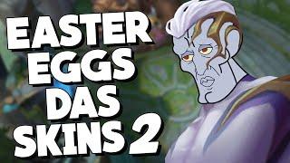 SEGREDOS e referências OBSCURAS nas SKINS DE League of Legends! parte 2
