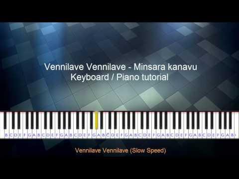 Vennilave Vennilave Minsara Kanavu Keyboard Tutorial video